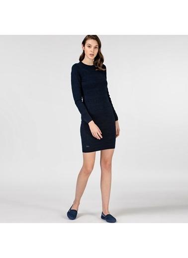 Lacoste Kadın Uzun Kollu Elbise EF0134.34L Lacivert